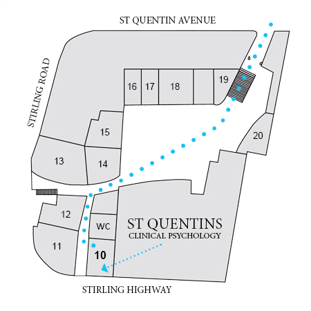 Saint Quentins Building map