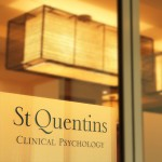 Front door of St Quentins Clinical Psychology
