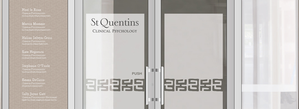 St Quentins Clinical Psychology entrance